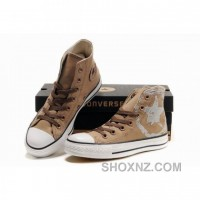 Converse All Star Chuck Taylor High Canvas Top Chocolate Shoes 4hXDN