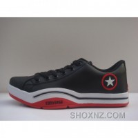 Converse All Star Chuck Taylor High Canvas Top Red Black Shoes BEGCC