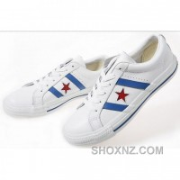 Womens Converse One Star White Silver Shoes NP8Hz