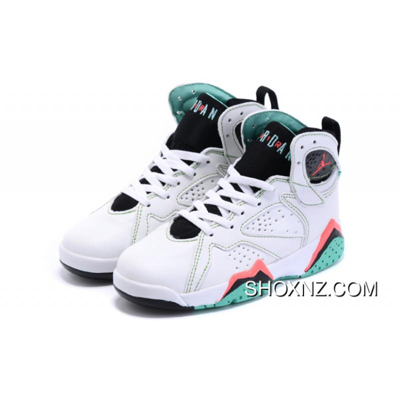 ... Kids Jordan 7 White Green Top Deals ...