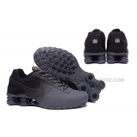 men NIKE SHOX DELIVER 809 black