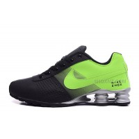 Men Shox Deliver Black Green