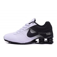 Men Shox Deliver White Black
