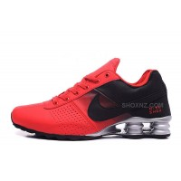 Men Shox Deliver Red Black