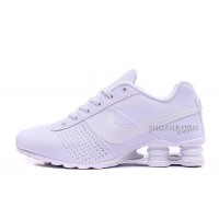 Men Shox Deliver All White