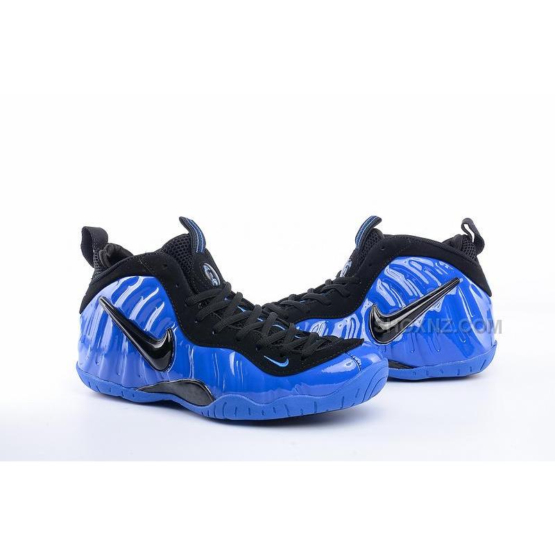 ... Nike Air Foamposite One penny hardaway women/men black blue 36-47 ...