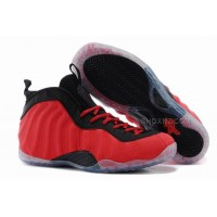Nike Air Foamposite One Red Suede