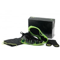 Buy Cheap Nike Air Foamposite One 2014 Para Norman Black Green Mens Shoes