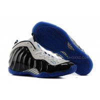 Buy Cheap Nike Air Foamposite One 2014 Shooting Stars Black White Blue Mens Shoes