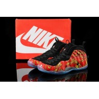 Buy Cheap Nike Air Foamposite One 2014 Red Black Mens Shoes