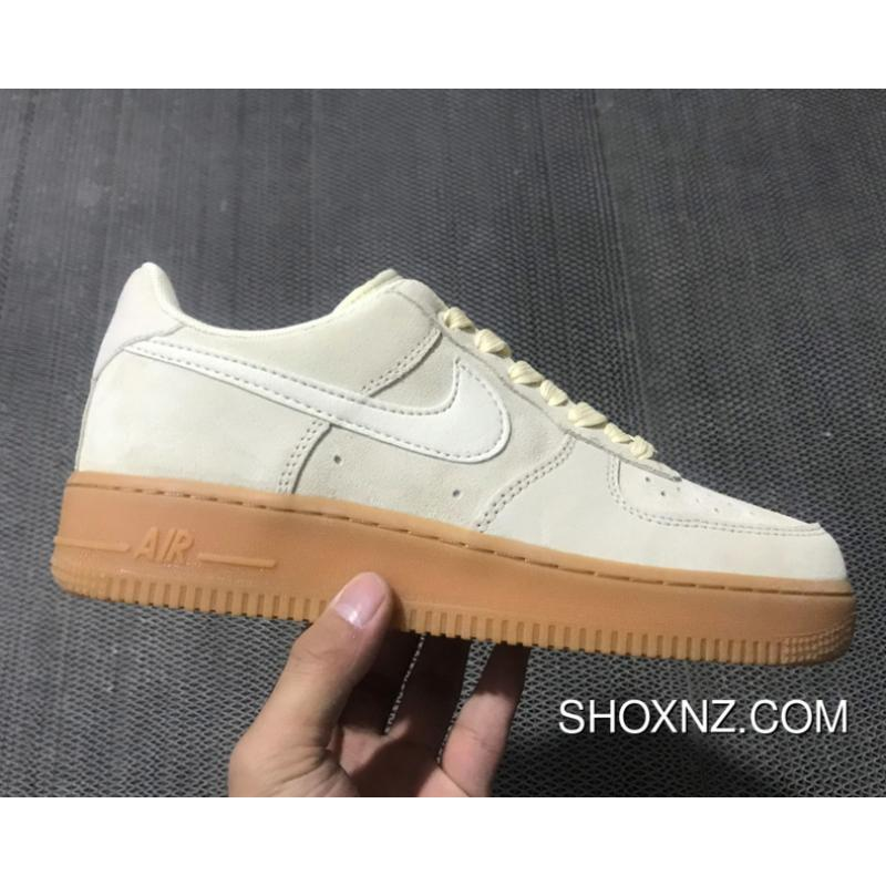 d7ea06971563f2 Nike Air Force 1 Low 07 Suede  Mushroom  New Style