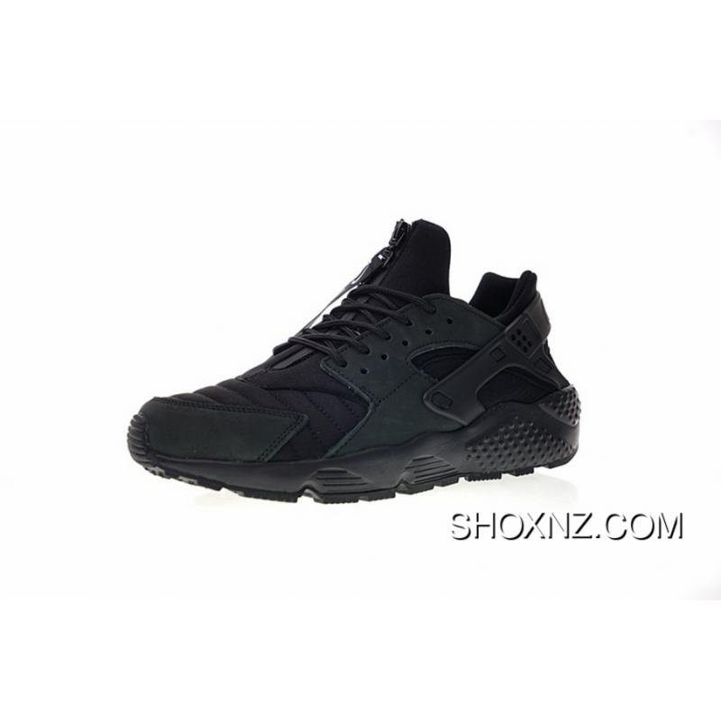 f165c193cf4f FULL GRAIN LEATHER USES System Normal Size Women Shoes And Men Shoes NYC  New York Limited Nike AIR Huarache RUN QS NYC Original Retro All-match  Jogging ...
