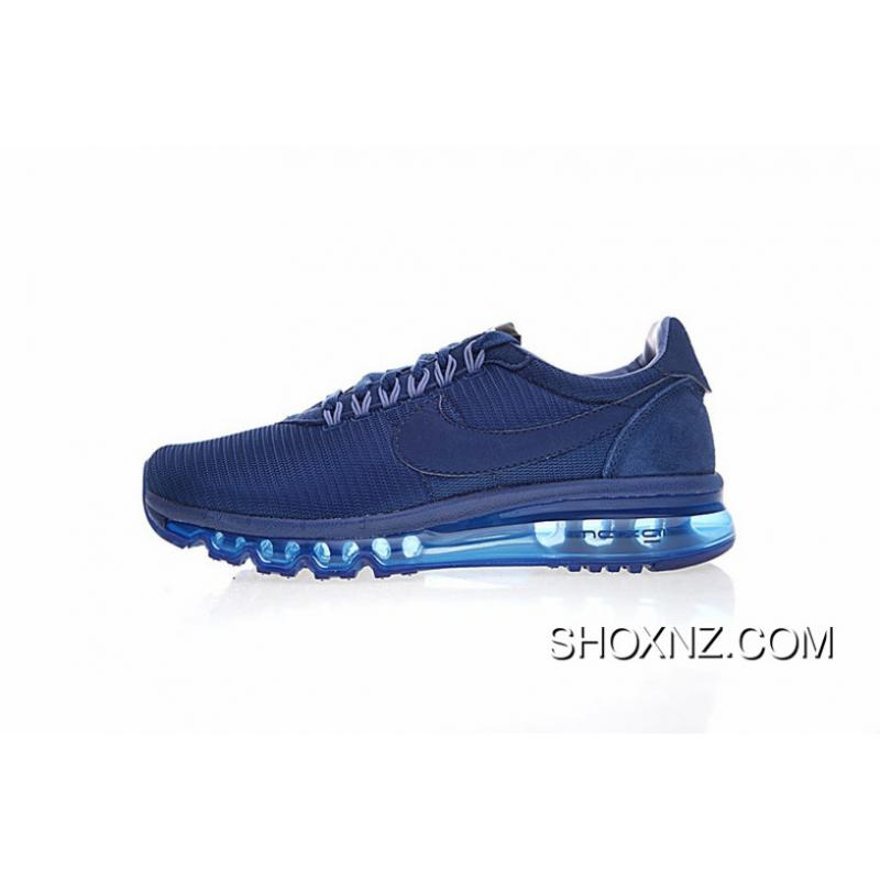 best service 14c44 f59c7 Men Shoes Hiroshi Fujiwara Blockbuster Be Nike Air Max LD-Zero Mixed Cortez  Series Retro Full-palm As Jogging Shoes All Navy Blue 848624-400 Discount