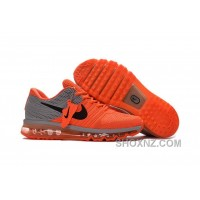 Authentic Nike Air Max 2017 Orange Grey Super Deals Ys7SeTa