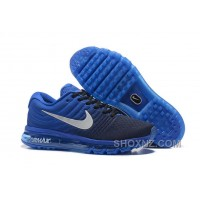 Authentic Nike Air Max 2017 Royal Blue Black Best TFDEYBH