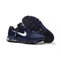 Nike Air Max 2017 KPU Navy White Authentic 64BEbph