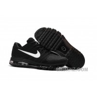 Authentic Nike Air Max 2017 KPU Black White Top Deals SXsyBY