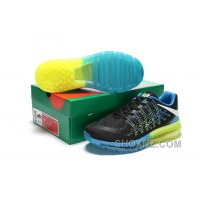 Authentic Nike Air Max 2017 3D Black Blue Green Free Shipping MQ5aKc