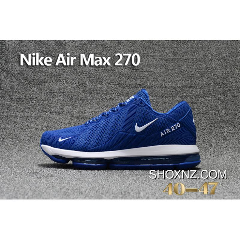 fe0d308317b2d ... Navy Blue White Nike Air Max Flair 270 Nanotechnology PLASTIC Zoom  Women Shoes And Men Shoes ...