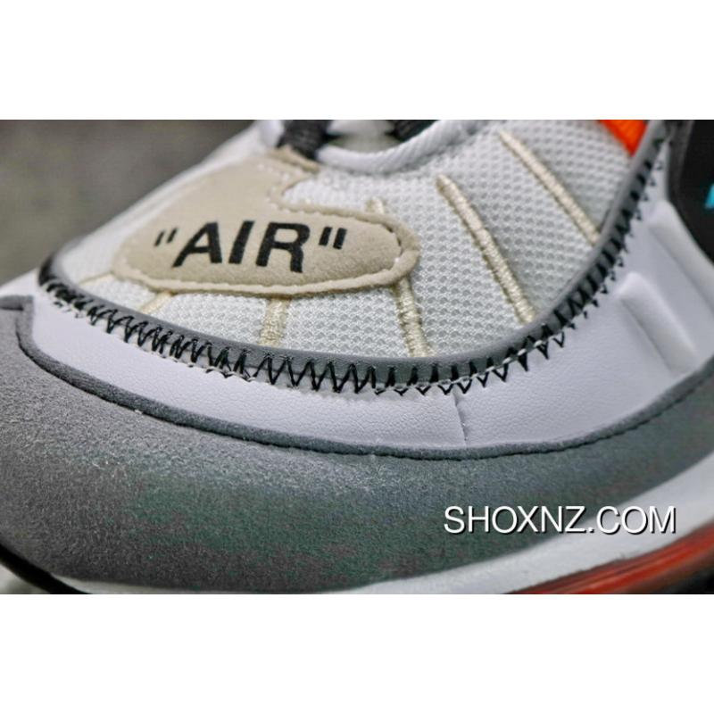 5a736511fc4a35 ... OFF-WHITE X Nike Air Max 98 Collaboration Retro Sport Zoom Running Shoes  Men Shoes ...