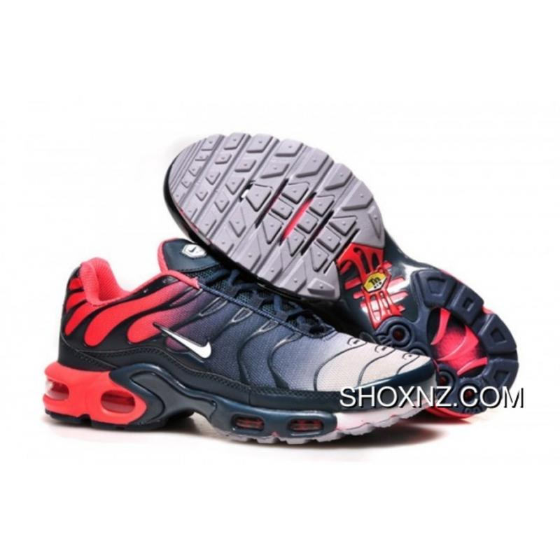 sports shoes 7df70 8c7cb Men Air Max Tn White/Blue/Red For Sale