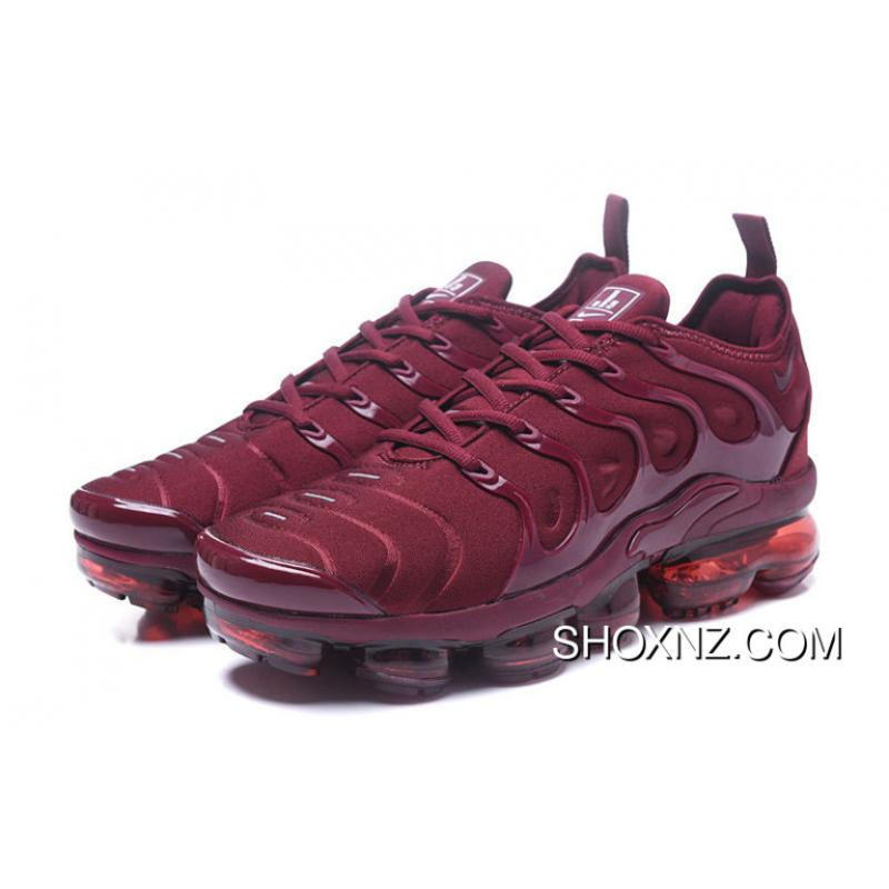 db89068d06410 AIR MAX Tn 2018 Plus 40--45 BURGUNDY For Sale . nike shox zoom ...