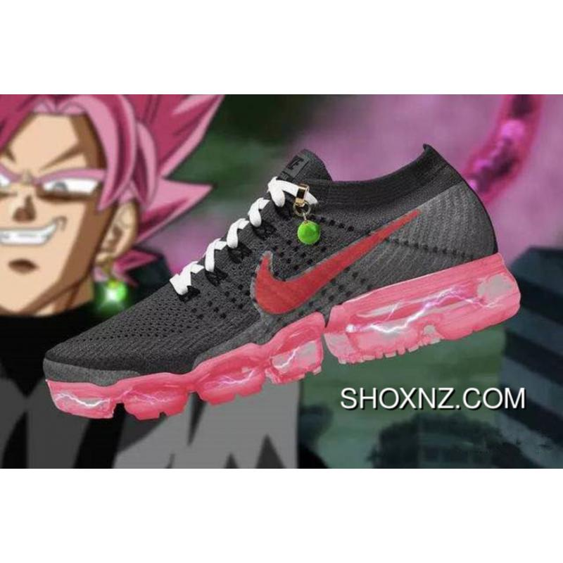designer fashion a9ff8 4764b Nike Air VaporMax Flyknit AA3859 016 2.0 016 Zoom Air Dragonball ID  Customized Limited Edition Women Shoes New Style