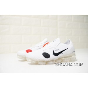 27ccfacfd11 ... 2018 New Color Virgil Abloh Designer Independent Brand Nike Air VaporMax  Steam Off White X Zoom ...