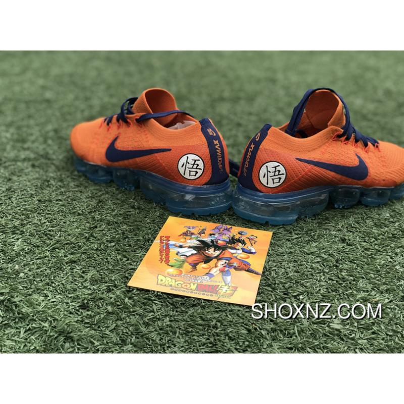 93d9f52ad2b ... Nike Lab Air Vapormax Flyknit Dragonball ID Customized AA3858-102  Limited Edition Small Size New ...