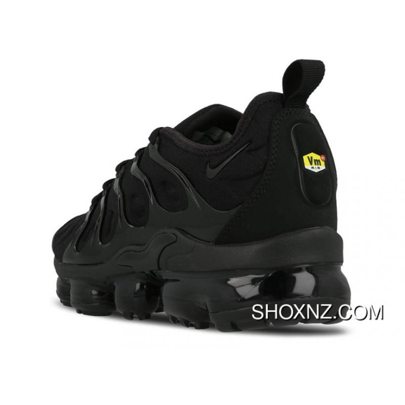 5d58ce9e2d4eb2 ... Mens Nike Air Vapormax Plus Triple BlackShoes Black Black Dark Grey  924453-004 ...