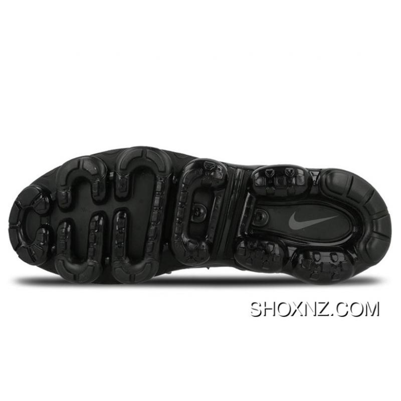 5e1a2b74368 Mens Nike Air Vapormax Plus Triple BlackShoes Black Black Dark Grey 924453-004  Copuon