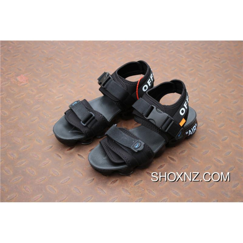 3363a76366a866 ... Nike OFF-WHITE X Air Vapormax 2018 Zoom Sandals SANDAL SKU 850588-001  Joint ...