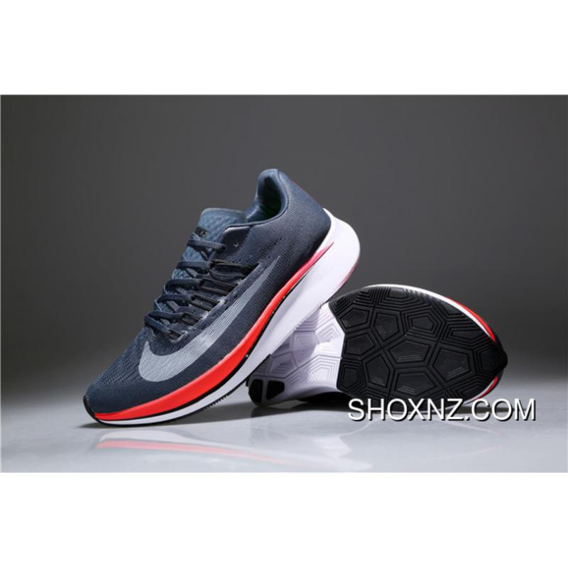 ... Nike Zoom Vaporfly 4% Blue Fox Grey Red 880847-400 Online ... e6bef2bba