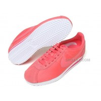 Women Nike Cortez Oxford Cloth Shoes Red