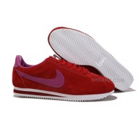 Women Nike Cortez Anti-Fur Shoes Red