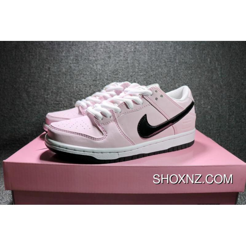 online retailer 5b022 252b1 Nike Dunk SB Low Pink Box 3M Pink Reflective Sport Skateboard Shoes Women  Shoes 833474-601 Copuon