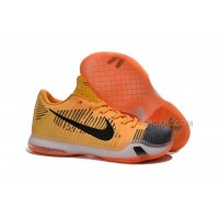 Kobe 10 Elite Low Chester HTM Black Orange