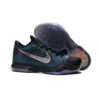 Kobe 10 Elite Low Drill Sergeant HTM Blue Orange Green