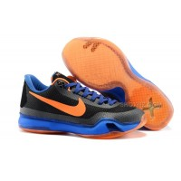 Cheap Nike Kobe 10 Black Blue Orange For Sale Online