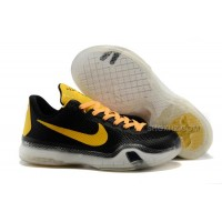 "Cheap Nike Kobe 10 ""Bruce Lee"" Black Yellow For Sale"