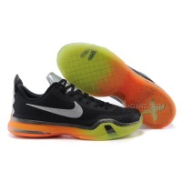 "Cheap Nike Kobe 10 ""All-Star"" Black/Multi-Color-Volt On Sale"