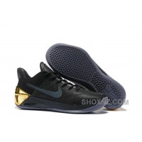 Cheap Nike Kobe A.D. 12 Limited Edition Black Gold Best 445GxP7