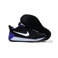 Nike Kobe A.D. 12 KB 24 Black Purple White Cheap To Buy DE4DkDf