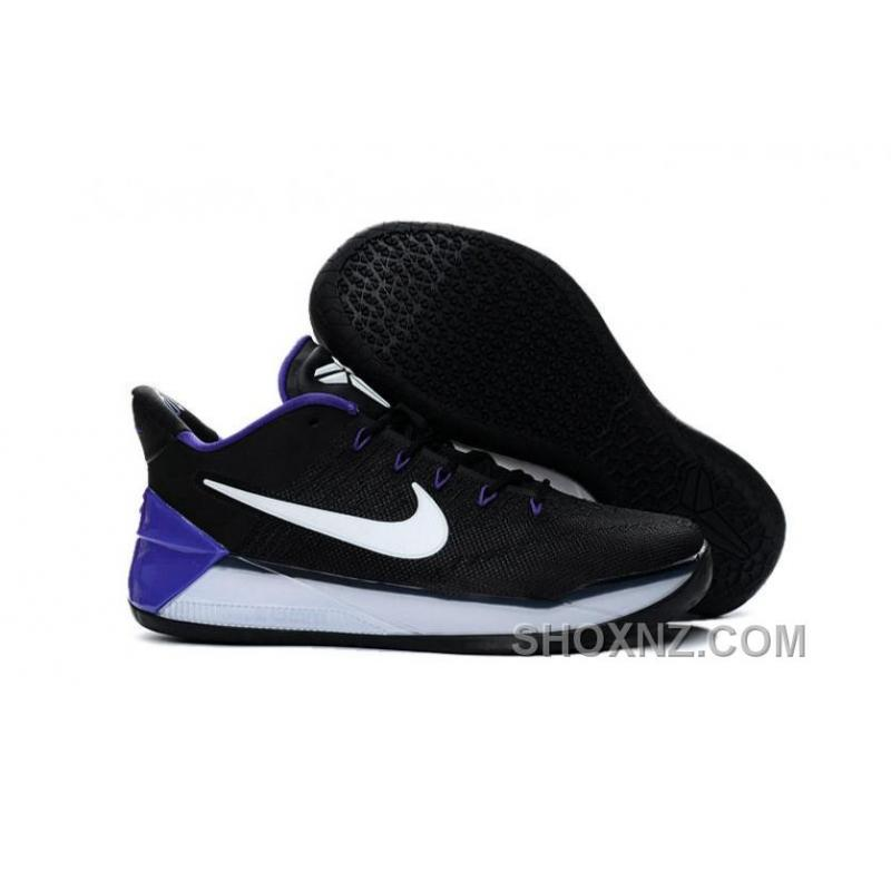 Nike Kobe AD 12 KB 24 Black Purple White Cheap To Buy DE4DkDf