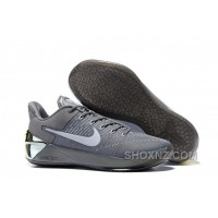 Cheap Nike Kobe A.D. 12 Cool Grey White 852425-010 Super Deals HaTFP6i