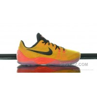 Cheap Genuine Nike Zoom Kobe Venomenon 5 University Gold Black Bright Crimson New Style 243yCj