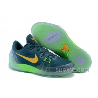 Cheap Genuine Nike Zoom Kobe Venomenon 5 Radiant Emerald Laser Orange Green Strike Free Shipping HbGWy