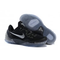 Cheap Genuine Nike Zoom Kobe Venomenon 5 Black Metallic Silver Dark Grey Best RkREJ