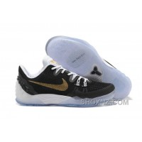 Nike Zoom Kobe Venomenon 5 Cheap Black Metallic Gold White New Style KPFRjB