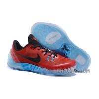 Discount Cheap Nike Zoom Kobe Venomenon 5 Red Black Soft Blue Online XnF6a